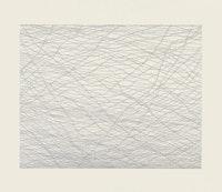 Jacob El Hanani, <em>The Hebrew Barbed Wire</em>, 2013. Ink on paper, 30 × 36 in.