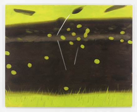Alex Katz, Untitled Landscape 1, 2014. Oil on linen, 96 x 120 in. Courtesy the artist and Gavin Brown's Enterprise. Photo: Thomas Müller.