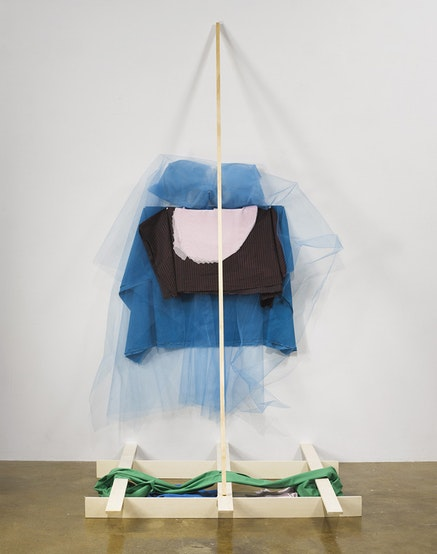 Installation view: <em>Both/And Richard Tuttle Print and Cloth</em>, the Fabric Workshop and Museum, Philadelphia, 2015, featuring work from Richard Tuttle: A Print Retrospective, exhibited at and organized by the Bowdoin College Museum of Art, Brunswick, Maine, 2014. Photo: Cameron Blaylock.