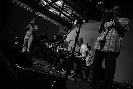 Little Black Egg Big Band. Photo: Bradley Buehring.