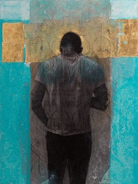Rodríguez Calero, <em>Transcendent</em>, 2013. 48 × 36 in. Courtesy of the artist.