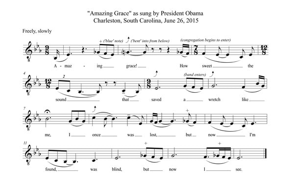 Singing History The Presidents Amazing Grace The