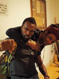 André M. Zachery and LaMont Hamilton Photo: Layla Zami.