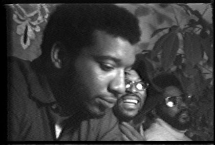 Still from <em>Fred Hampton</em>, 1969. Courtesy Video Data Bank.