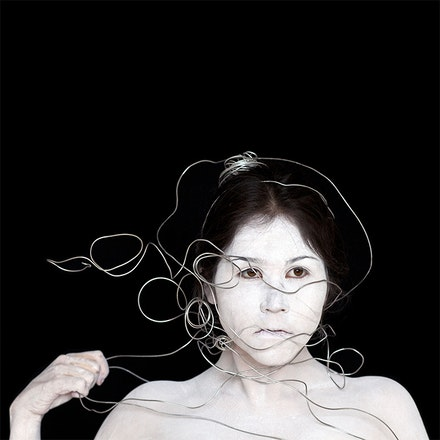 Meryl McMaster (Plains Cree member of the Siksika Nation, British, and Dutch, b. 1988), <em>Meryl</em>, 2010. Digital chromogenic print, 36 &times; 36 in. Courtesy the artist and Katzman Contemporary.