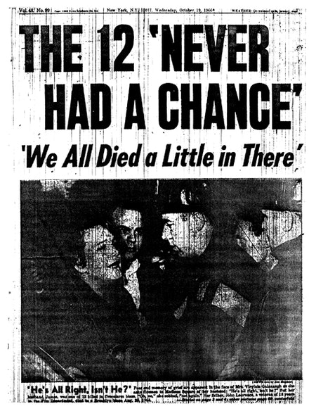 The 12 Never Had a Chance. Oct 17 1966.