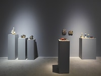 Installation View: Trisha Baga, <em>Orlando</em>, Greene Naftali, New York, Sept. 3 - Oct. 3, 2015. Courtesy the artist and Greene Naftali, New York.