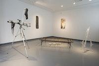 Installation view: Roberto Visani, <em>In Medias Res</em>, Guttenberg Arts Gallery, Guttenberg, New Jersey, Sept. 7 – October 4, 2015.