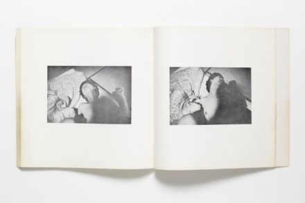 Nobuyoshi Araki, <em>Sentimental Journey</em>, 1971. Artist's book, 11 × 5 in. Courtesy the Museum of Fine Arts, Houston, Manfred Heiting Photo Book Collection. © Nobuyoshi Araki.