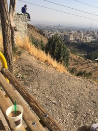 View from Mount Tochai (aka Roof of Tehran), overlooking the city. Photo: Yasaman Alipour.