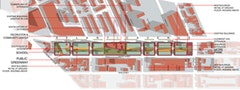 The Atlantic Yards Development Workshop: Marshall Brown, Anna Dietzsch, John Nafziger, and Sarah Strauss.
