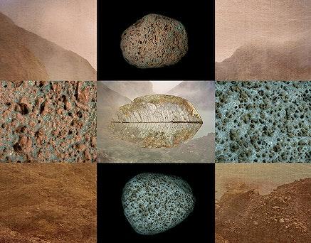 Meridel Rubenstein, <em>Ring of Fire</em>, 2011-13. Dye sublimation on aluminum, edition 1/3, 45 1/4 x 57 inches.