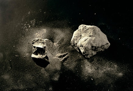 Meridel Rubenstein, <em>Mt. Toba Volcanic Ash, 74,000 yrs. old, found in Malaysia</em>, 2010. Archival pigment on aluminum, edition 1/7, 20 1/2 x 29 inches.