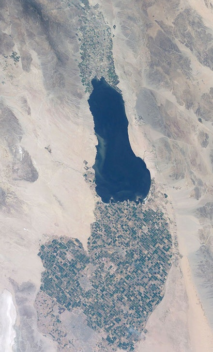 Imperial Valley and Salton Sea, California. Source: NASA.