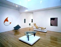 Leon Polk Smith, installation view. Courtesy of Joan T. Washburn Gallery, New York.