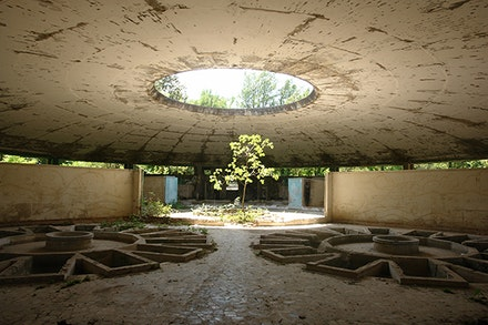 Gio Sumbadze, Soviet period bath building, Tskaltubo, 2015. Photo: Gio Sumbadze.