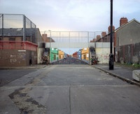 "Sean Hemmerle, ""Belfast (love),"" 2004. Digital C-Print, 48"" x 60"". Courtesy of The Front Room."
