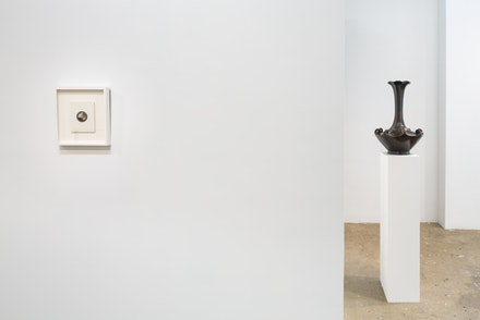 Installation view: Roland Flexner and Japanese Bronzes of the Edo Period, Sargent's Daughters, New York, Sept. 12 – Oct. 11, 2015. Courtesy Sargent's Daughters, New York. Photo: Nicholas Knight.