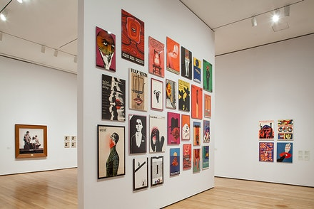 Installation view: <em>Transmissions: Art in Eastern Europe and Latin America, 1960 - 1980</em> at The Museum of Modern Art, New York, September 5, 2015 - January 3, 2016. Copyright 2015 The Museum of Modern Art, New York. Photo by Thomas Griesel.