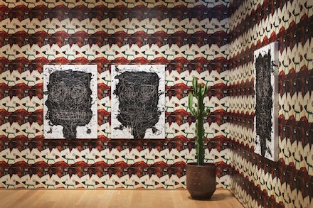 Installation View: <em>Rashid Johnson: Anxious Men</em>.  Drawing Center, October 2, 2015 – December 20, 2015. Photo: Andres Ramirez.