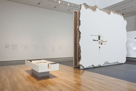 Installation View: <em>Walid Raad</em>. Museum of Modern Art, October 12, 2015 – January 31, 2016. Photo:  Tomas Griesel.  	©2015 Museum of Modern Art.