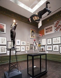 "Installation view: ""Birth of the Republic"" gallery in <em>Berlin Metropolis: 1918–1933</em>, Neue Gallerie, October 1, 2015 – January 4, 2016. Photo: Hulya Koabas."