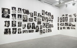 William Kentridge, Installation view <em>Drawings for Lulu</em>, Marian Goodman Gallery, New York, November 2 &#150; December 19, 2015. Courtesy the artist and Marian Goodman Gallery. Photo: Cathy Carver.
