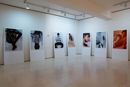 Installation view: <em>Greater New York</em>, MoMA PS1, October 11, 2015 - March 7, 2016. Image courtesy of the artists and MoMA PS1. Photo Pablo Enriquez.
