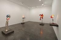 Installation View: <em>Alina Szapocznikow</em>. Andrea Rosen Gallery, October 31 - December 5, 2015. Courtesy The Estate of Alina Szapocznikow / Piotr Stanislawski. (C) ADAGP, Paris.