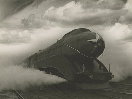 Arkady Shaikhet, Express, 1939, gelatin silver print. Nailya Alexander Gallery, New York. Artwork © Estate of Arkady Shaikhet / courtesy of Nailya Alexander Gallery.