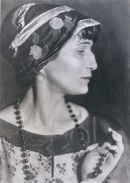 Moisei Nappelbaum, The Poet Anna Akhmatova, 1924, gelatin silver print. Collection of Alex Lachmann.