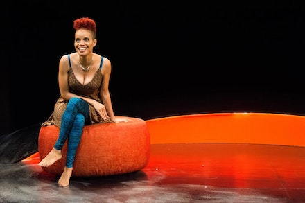 Staceyann Chin. Photo: Timmy Blupe.