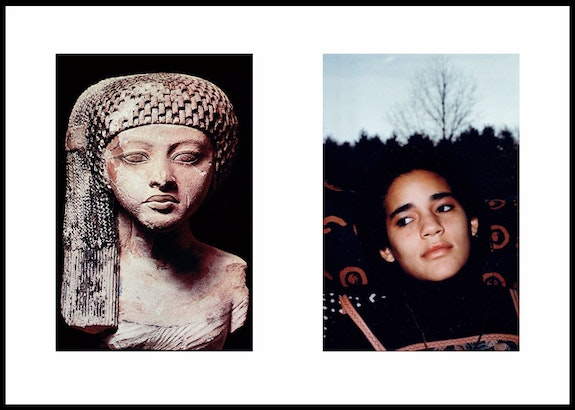 Lorraine O&#146;Grady, &#147;Miscegenated Family Album,&#148; 1994. <em>Worldly Princesses. (L, Nefertiti&#146;s daughter Merytaten, R: Devonia&#146;s Daughter Kimberly.)</em> Courtesy Alexander Gray Associates, New York.