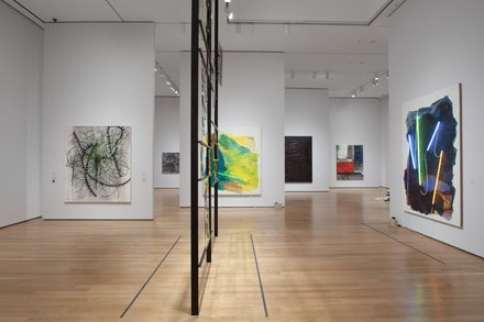 Installation View: <em>The Forever Now: Contemporary Painting in an Atemporal World</em>. The Museum of Modern Art, New York. Photo: John Wran. ©The Museum of Modern Art.