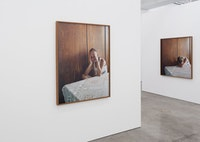 Installation view: Sharon Lockhart, <em>Milena Milena</em>, Barbara Gladstone Gallery, December 12, 2015 – January 23, 2016. Courtesy Barbara Gladstone.