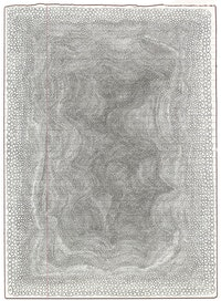 Lori Ellison, <em>Untitled</em>, 2014 – 15. Pencil on notebook paper, 11  × 8 inches. Courtesy McKenzie Fine Art, New York.