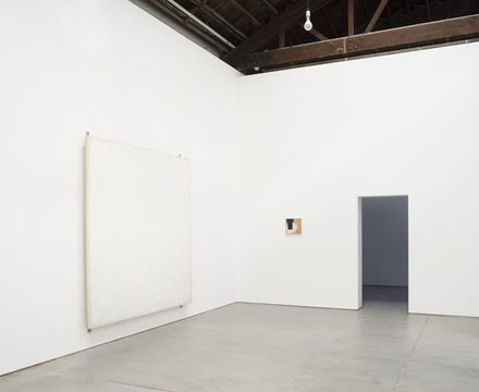 Installation view: <em>Robert Ryman</em>, Dia Art Foundation Chelsea, New York. © 2015 Robert Ryman/Artist Rights Society, New York. Courtesy the Greenwich Collection Ltd./Dia Art Foundation, New York. Photo: Bill Jacobson.
