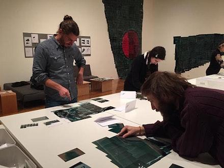 "Katsushige Nakahashi, ""ZERO PROJECT,"" in progress. Material/DIM TK. Courtesy of Douglas F. Cooley Memorial Art Gallery, Reed College 2016. Photo: TK"