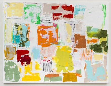 Carolanna Parlato, <em>a delicate balance</em>, 2015. 64 x 84 inches. Courtesy Elizabeth Harris Gallery.
