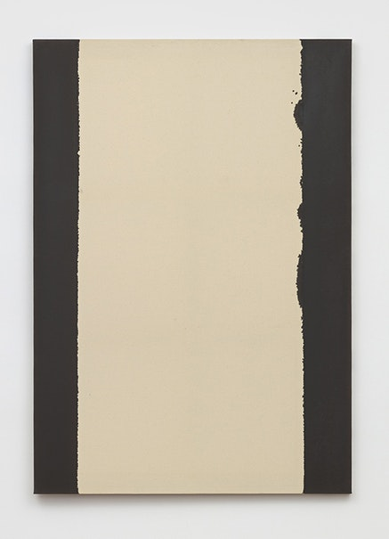 Yun Hyong-keun, <em>Burnt Umber & Ultramarine Blue</em>, 2007. Oil on cotton, 63 3/4 x 44 5/16 inches. Courtesy of Yun Seong-ryeol and Blum & Poe, Los Angeles/New York/Tokyo.