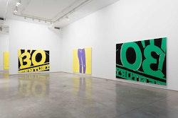 Installation view: <i>Andrew Gbur</i>, Team Gallery, Grand Street, January 14 - February 28, 2016. Image courtesy Team Gallery, New York.