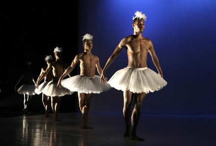 Dada Masilo's <em>Swan Lake</em>. Photo: John Hogg.