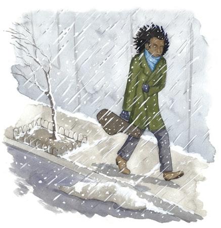 (Over)exposure at the Winter Jazzfest. Illustration by Megan Piontkowski.