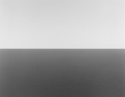 Hiroshi Sugimoto, <em>Adriatic Sea, Gargano,</em>1990, gelatin silver print, 47 inches x 58-3/4 inches. Hiroshi Sugimoto, courtesy Pace Gallery. Photo courtesy the artist.