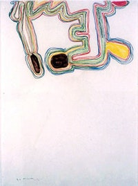 """Olav Christopher Jenssen, """"Untitled"""" (2004), pastel on paper. Photo by Bill Orcutt. Courtesy of Tracy Williams Ltd."""