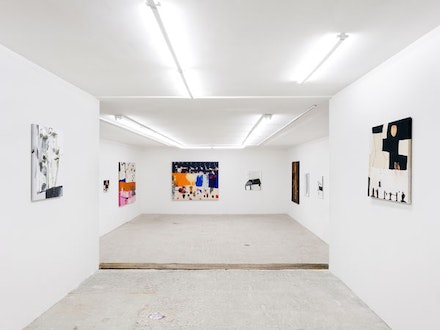 Installation view: Dana DeGiulio and Molly Zuckerman-Hartung, <em>QUEEN</em>, Lyles & King, January 8 &#150; February 7, 2016. Courtesy Lyles & King.