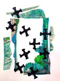 Sterrett Smith, <em>Premonition of Barrel Bombs</em>, 2015. Courtesy the artist.