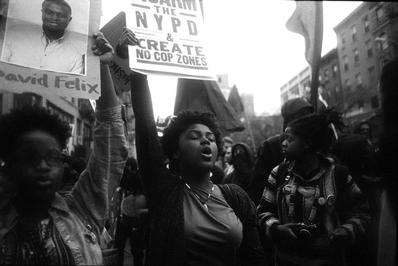 May Day Protestor, New York, 2015.