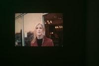 Hilton Als, <em>Bobbie</em>, 2016. Projected slides. Courtesy the artist. Photo: Hector Rene.