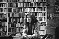<i>Photograph of Susan Sontag by Dominíque Nabokov, 1979.</i>
